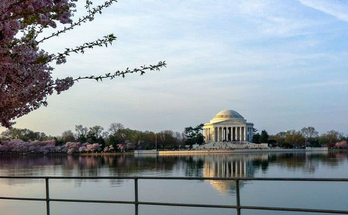 A Walk Along the Washington DC Tidal Basin