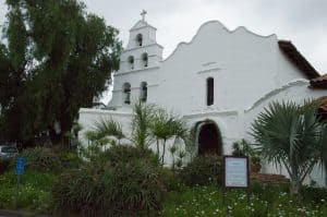 Exterior of Mission San Diego