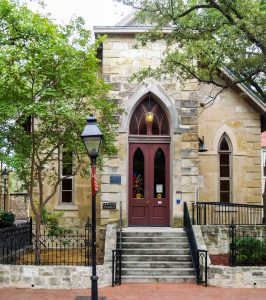 Historic church in San Antonio Texas