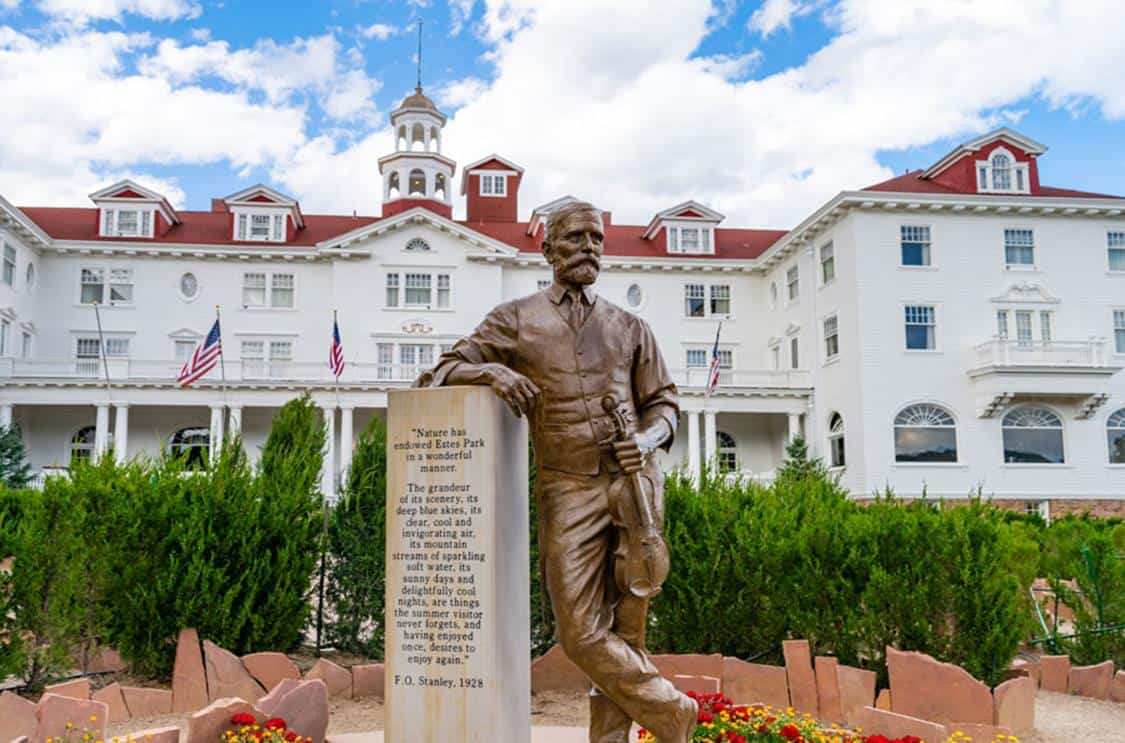 Status of founder of the Stanley Hotel